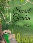 Secret Garden Coloring Book: Magical Scenes for Adults Chill Adventure Cover Image