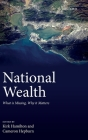 National Wealth: What Is Missing, Why It Matters Cover Image