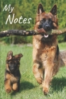 My notes: Puppy Notebook, Dog - Size 6
