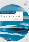 Business Law (MacMillan Law Masters) Cover Image