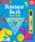 Dinosaur Dash Maze Book (Pull-the-Tab Wipe Clean Books) Cover Image