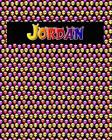 120 Page Handwriting Practice Book with Colorful Alien Cover Jordan: Primary Grades Handwriting Book Cover Image