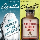 The Murder at the Vicarage & the Mysterious Affair at Styles (Hercule Poirot Mysteries (Audio) #1920) Cover Image