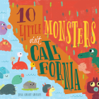 10 Little Monsters Visit California Cover Image