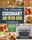 The Ultimate Cuisinart Air Fryer Oven Cookbook Cover Image