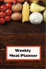 Weekly Meal Planner Cover Image