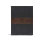 CSB Spurgeon Study Bible, Black/Brown LeatherTouch®: Study Notes, Quotes, Sermons Outlines, Easy-to-Read Font Cover Image