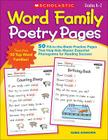 Word Family Poetry Pages: 50 Fill-In-The-Blank Practice Pages That Help Kids Master Essential Phonograms for Reading Success Cover Image