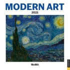 Modern Art 2021 Mini Wall Calendar Cover Image
