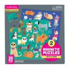 Cats & Dogs Magnetic Puzzles Cover Image