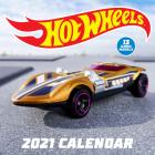 Hot Wheels 2021 Wall Calendar Cover Image