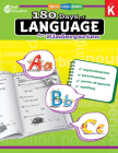 180 Days of Language for Kindergarten (180 Days of Practice) Cover Image