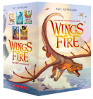 Wings of Fire Boxset, Books 1-5 (Wings of Fire) Cover Image