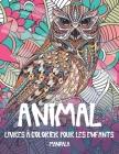 Livres à colorier pour les enfants - Mandala - Animal Cover Image