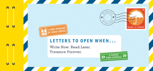 Letters to Open When...: Write Now. Read Later. Treasure Forever. (Long Distance Relationship Gifts, Gifts for Friends, Letter Books) Cover Image