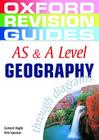 As and a Level Geography Through Diagrams Cover Image