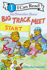 The Berenstain Bears' Big Track Meet (I Can Read Level 1) Cover Image
