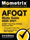 Afoqt Study Guide 2020-2021 - Afoqt Test Prep Secrets 2020 and 2021, Full-Length Practice Test, Step-By-Step Review Video Tutorials: [3rd Edition] Cover Image