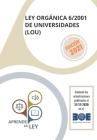 Ley Orgánica 6/2001 de Universidades (Lou) Cover Image