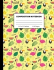 Composition Notebook: Composition Notebook College Ruled - 8.5 x 11 Inches 110 pages Cover Image