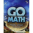 Go Math!: Student Interactive Worktext Grade 6 2014 Cover Image