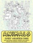 Animals - Adult Coloring Book - 200 Zentangle Animals Designs with Henna, Paisley and Mandala Style Patterns Cover Image