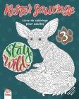 Rester sauvage 3 - Edition Nuit: Livre de Coloriage pour Adultes (Mandalas) - Volume 3 - Anti-stress Cover Image