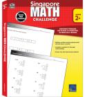 Singapore Math Challenge, Grades 2 - 5 Cover Image