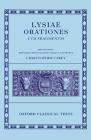 Lysiae Orationes Cum Fragmentis (Oxford Classical Texts) Cover Image