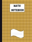 Math Notebook: Large Simple Graph Paper Notebook / Mathematics and Science Notebook / 120 Quad ruled 4x4 pages 8.5 x 11 / Grid Paper Cover Image