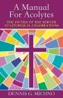 Manual for Acolytes (Duties of the Server at Liturgical Celebrations) Cover Image