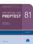 The Official LSAT Preptest 81: (June 2017 LSAT) Cover Image