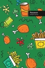 Passover Lifestyle Journal, Blank Write-in Notebook, Dotted Lines, Wide Ruled, Size (A5) 6 x 9 In (Green) Cover Image