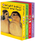Bright Baby Touch & Feel Boxed Set: On the Farm, Baby Animals, at the Zoo and Perfect Pets (Bright Baby Touch and Feel) Cover Image