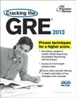 Cracking the GRE with DVD, 2013 Edition Cover Image