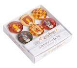 Harry Potter: Gryffindor Glass Magnet Set (Set of 6) Cover Image