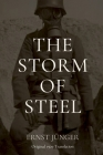 The Storm of Steel: Original 1929 Translation Cover Image