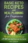 Basic Keto Recipes and Meal Planning For Beginners Cover Image