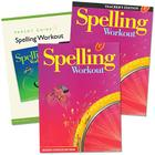 Spelling Workout Homeschool Bundle Level F Copyright 2002 [With Parent Guide and Teacher's Guide] Cover Image
