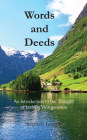 Words and Deeds: An Introduction to the Thought of Ludwig Wittgenstein Cover Image