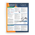 PMP Exam: Quick Reference Guide, Sixth Edition Plus Agile (Test Prep series) Cover Image