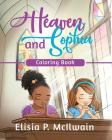 Heaven and Sophia Coloring Book Cover Image