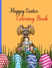 Happy Easter Coloring Book Cover Image