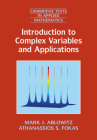 Introduction to Complex Variables and Applications (Cambridge Texts in Applied Mathematics #63) Cover Image