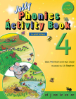 Jolly Phonics Activity Book 4: In Print Letters (American English Edition) Cover Image