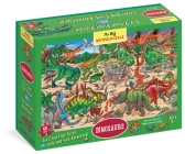 My Big Wimmelpuzzle—Dinosaurs Floor Puzzle, 48-Piece Cover Image