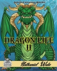 Dragon Life II: Ultimate Dragon Coloring Book Cover Image