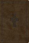 ESV Student Study Bible (Trutone, Olive, Celtic Cross Design) Cover Image