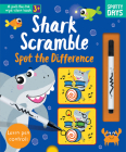 Shark Scramble Spot the Difference (Pull-tab Wipe-clean Activity Books) Cover Image