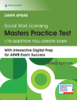 Social Work Licensing Masters Practice Test: 170-Question Full-Length Exam Cover Image